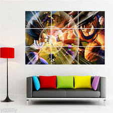 Dragon Ball Z Poster Fight Giant Large Print Huge Art