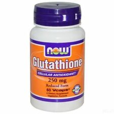 Now Glutathione 250 mg 60 capsules BEST PRICE FREE SHIPPING