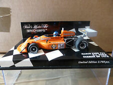 Minichamps 1:43 H J Stuck March Ford 761 # 34 F1 German GP 1976 Jagermeister