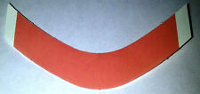"Red Liner 3/4"" x 3"" Curved ""A"" strips ""108 total"" lace hairpiece wig toupee tape"