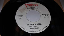 "BOBBY NELSON -Rockabilly instro- Wheels 7"" 45 Varsity 1104 Reflection Of A Fool"