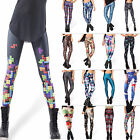 Womens Colorful Sexy Stretch Slim Pencil Pants Leggings Skinny Fit Long Trousers