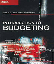 Introduction to Budgeting by David Flanders, Peter Blythe, Colin Bear (Mixed me…