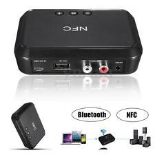 Bluetooth 3.5mm NFC RCA Haut-parleur Stéréo Audio Musique Récepteur Adaptateur