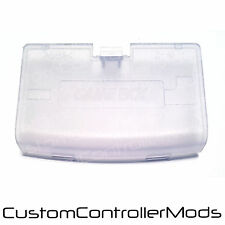 Nintendo Gameboy Advance GBA Replacement Battery Cover - Clear Ice Blue