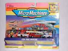 1996 Galoob Micro Machines #30 FIRE RESCUE Ambulance Plane Firemen Fire Truck