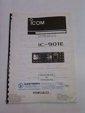 MANUALE IN ITALIANO istruzioni d'uso per ICOM IC-901E