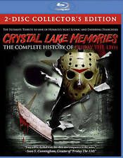 Crystal Lake Memories: Complete History of Friday the 13th [Blu-ray] New DVD! Sh