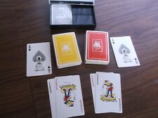 Barclay Bridge Playing Cards - Double Deck with Case & Instructions - Belgium