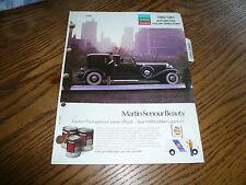 1980/81 NAPA Martin Senour Paint Colors - AMC Chrysler Ford GM