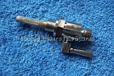 PETROL TAP 1/8 X 7/16. LEVER TYPE. BSA TRIUMPH. NICKEL ON BRASS BALL VALVE.
