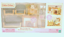 Calico Critters Deluxe Living Room Set with light up Fireplace CF1514