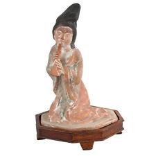 China 20. Jh. Musikerin - A Chinese Terracotta Figure Of A Musician - Chinois
