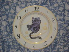 Disney Store Ceramic Plate Cheshire Cat. (Alice Through The Looking Glass.)