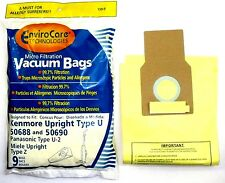 9 Kenmore Upright 50688 and 50690 Panasonic Type U-2 Vacuum Bags Microfiltration
