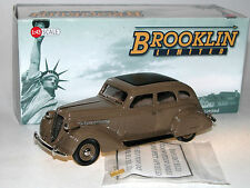 Brooklin Models BML 12, 1935 Nash Ambassador Eight Sedan, Brown, 1/43 NEUHEIT