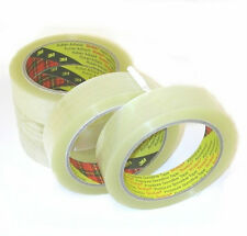 12 Rolls 3M Scotch Sellotape 25mm x 66m Clear Packing Tape