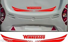 WINNEBAGO MOTORHOME 2 PIECE KIT DECALS STICKER CHOICE OF COLOUR & SIZE