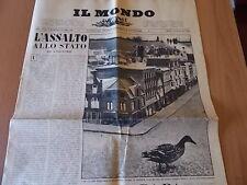 IL MONDO 482 (1958) Madurodam, Cesare Musatti, Mino Maccari
