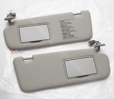 Grey Color Genuine Inner Sun visor LH RH 2Pcs For Hyundai SONATA 2006 2010