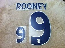 Set Number, Rooney England Home Oficial Chris Kay World Cup 2006