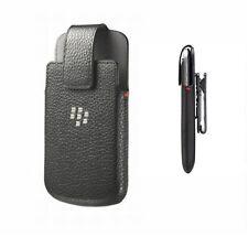 Original Blackberry Classic Cuero Funda negro ACC-60088-001 Funda Protectora