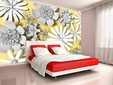 Serrated Flowers Wall Mural Photo Wallpaper GIANT WALL DECOR PAPER POSTER