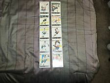 1998/99 Phoenix Mustangs WCHL Minor League Hockey Team Set 2 5 Card Uncut Strips