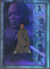 STAR WARS ATTACK OF THE CLONES PRISMATIC FOIL CARD 7