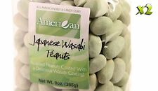 18oz Gourmet Style Bags of Delicious Japanese Wasabi Peanuts [9/16 lb.]