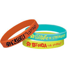 LION GUARD RUBBER BRACELETS (6) ~ Birthday Party Supplies Favors Wristbands