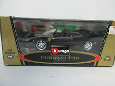 Bburago Gold Collection 1995 Ferrari F50 Die-cast Black 1/18