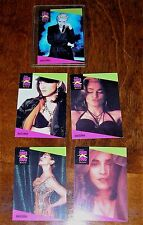 MADONNA Set of 5 ProSet Super Star Musicards 65-69 Like a Prayer card music rare