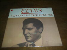 """ELVIS PRESLEY 45 TOURS CANADA CRING IN THE CHAPEL"