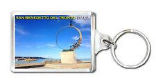 SAN BENEDETTO DEL TRONTO ITALIA KEYRING SOUVENIR LLAVERO