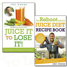 Joe Cross Juice Diet Recipe Collection 2 Books Set Pack Juice It To Lose It NEW