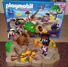 Playmobil 3127 Pirates Starter Set with Playscape with Original Box 2001