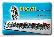DUCATI MECCANICA publicité Panneau en tôle Plaque métallique Métal Signe NEUF