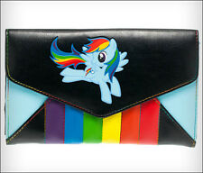 My Little Pony Rainbow Dash Women's Girl's Envelope Wallet Purse OFFICIAL LICENS
