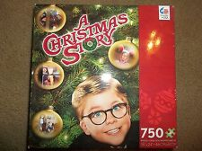 "A Christmas Story Movie Jigsaw Puzzle 750 Pieces Sealed Ralphie Tree ""BRAND NEW"""