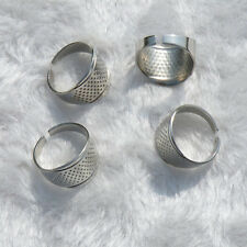 7x Thimble Sewing Quilting Metal Thimble ring simple DIY Craft Finger Protector