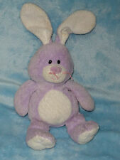 Ty Pluffies Tylux 2006 Twitches Bunny Rabbit Purple White