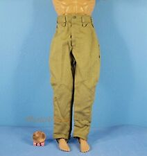 1:6 Action-Figur WW2 German Africa Corps Army Pants Trousers Toy Modell OK006