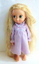 "Disney Rapunzel Animators 16"" Doll 1st Edition Tinsel Hair RARE Night Gown"
