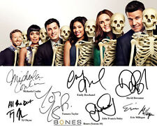 Bones S10 Emily Deschanel David Boreanaz Cast Signed Photo Autograph Reprint