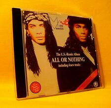 CD Milli Vanilli All Or Nothing The U.S. Remix Album 9TR 1989 Pop Rap