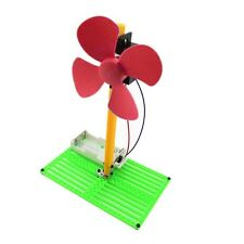 DIY Battery Powered Fan Summer Cooling Cooler Kit Children Educational Toy DF