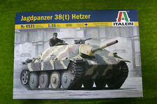 Jadgpanzer 38(t) HETZER German WW2 Tank 1/35 Scale Italeri Kit 6531