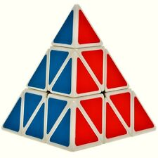 Fast & Smooth 3 Layer Pyramid Magic Speed Cube Puzzle Toys IQ Games