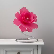 Paloma FIORE FUCSIA lampada da tavolo Moderna Ragazza Camera da Letto Luce Decorativa da comodino